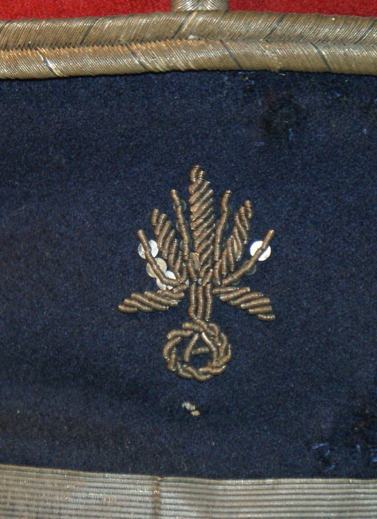képi de sous officier service automobile du train des équipages 1910 Dzotai12