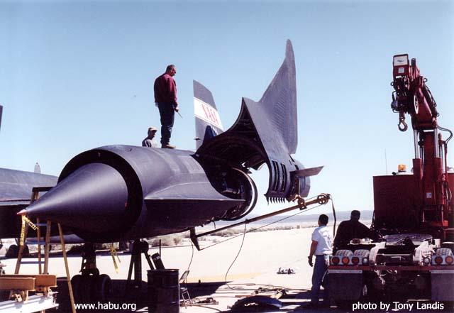 Sa Majesté SR-71, Jasmine models, 1/144 Aile1-10
