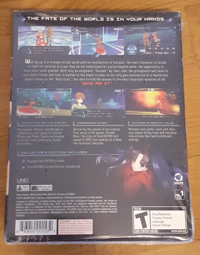 [ESTIM] Fate Extra Limited Edition US sur PSP Fate_e10