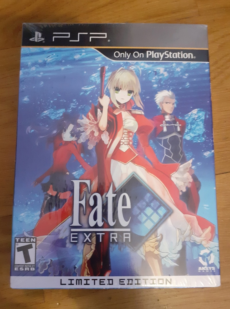 [ESTIM] Fate Extra Limited Edition US sur PSP Fate_e11