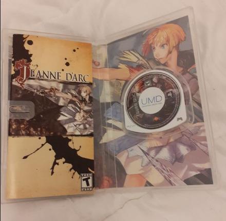 [VENDU] Jeanne d'Arc pour PSP Jeu311