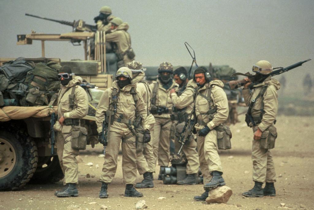 Le 1er GCP il y a 30 ans le 23 Février 1991 111