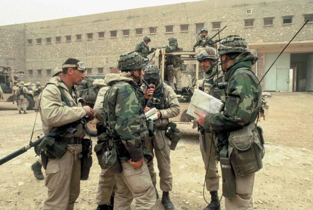 Le 1er GCP il y a 30 ans le 23 Février 1991 1112