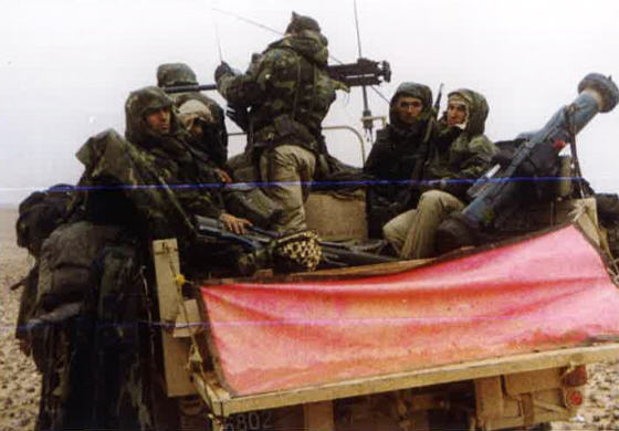 Le 1er GCP il y a 30 ans le 23 Février 1991 210