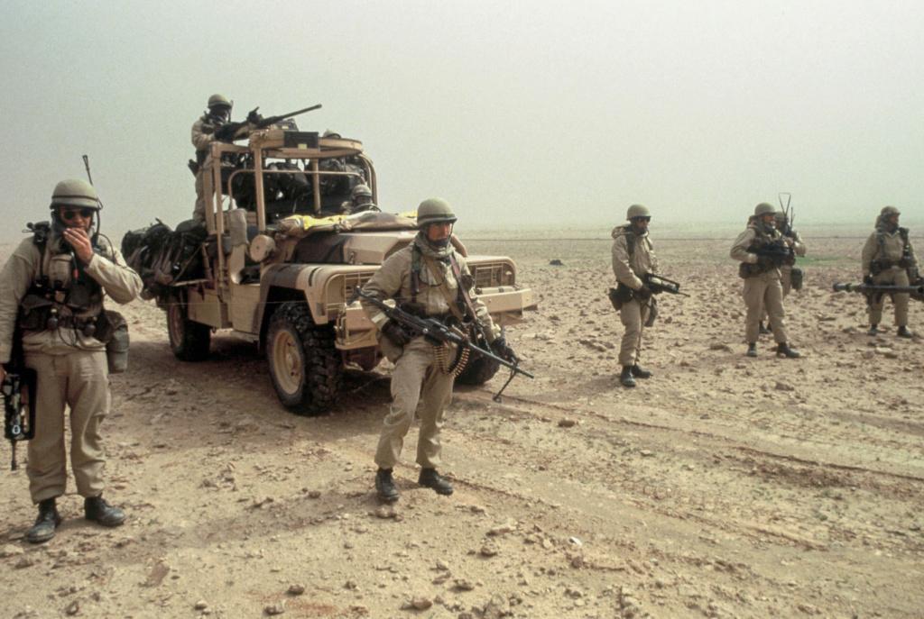 Le 1er GCP il y a 30 ans le 23 Février 1991 410