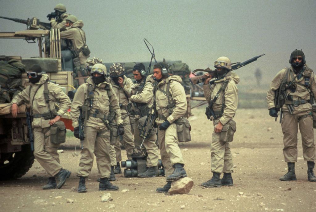 Le 1er GCP il y a 30 ans le 23 Février 1991 411