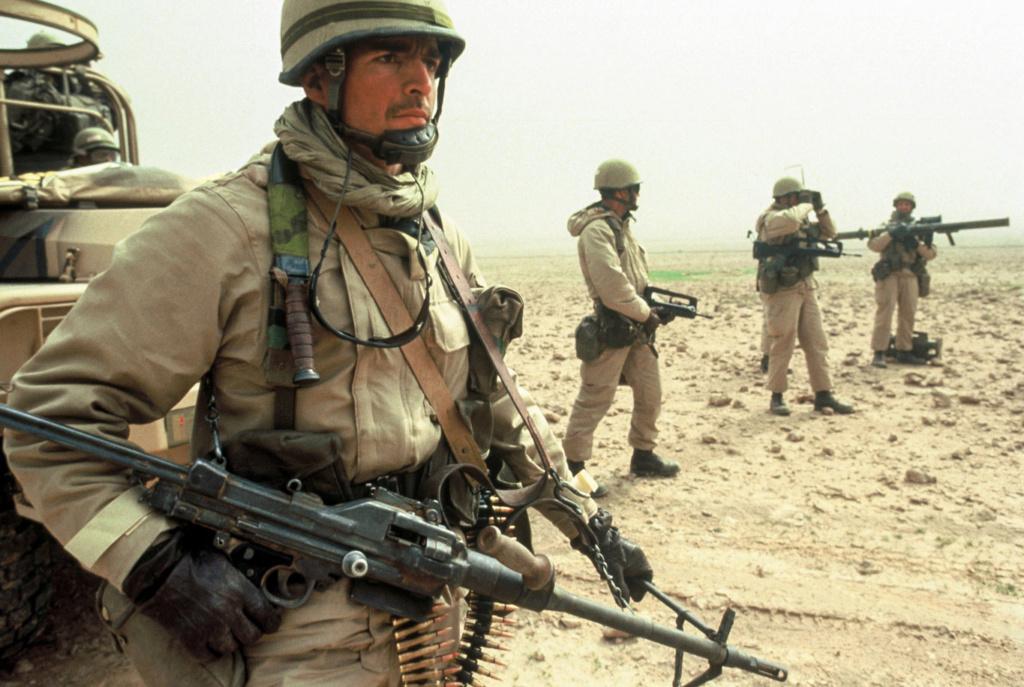 Le 1er GCP il y a 30 ans le 23 Février 1991 610