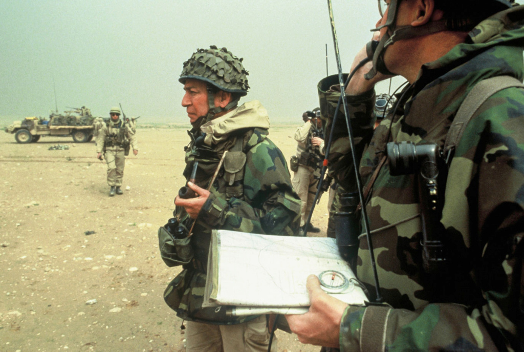 Le 1er GCP il y a 30 ans le 23 Février 1991 811