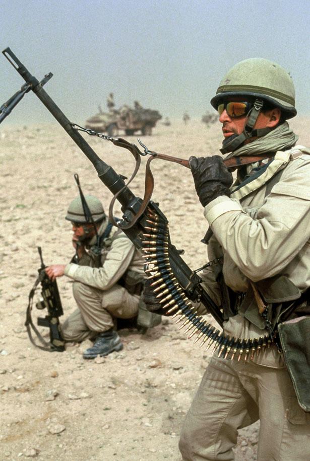 Le 1er GCP il y a 30 ans le 23 Février 1991 910