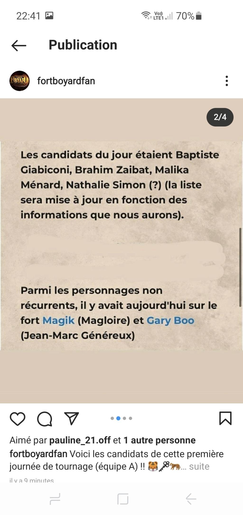 Équipes et candidats de Fort Boyard 2021 - Page 5 Screen15