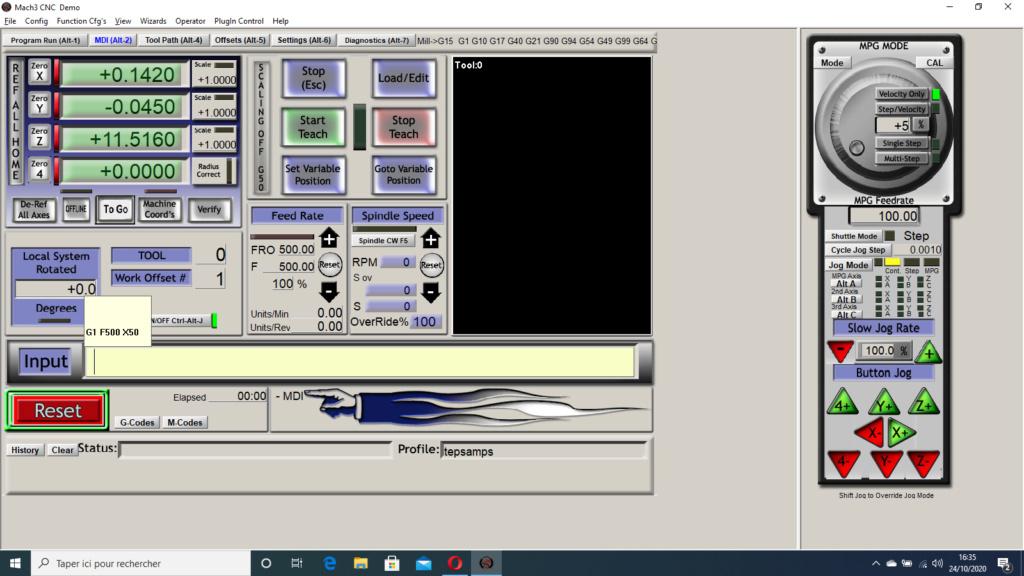 Débuts laborieux sur Mach3. besoin d'aide SVP Captur10