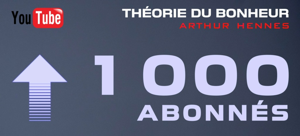 Passage des 1000 abonnés, remerciement et retour d'XP 1000ab10
