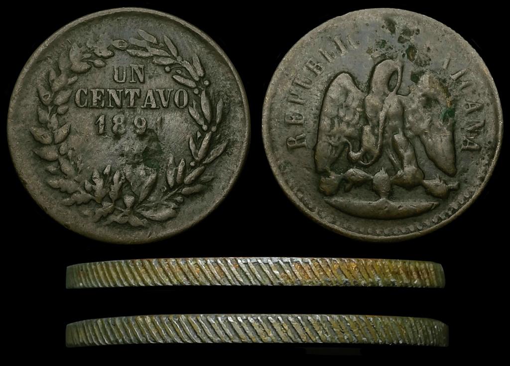 Duda con Centavos Mexicanos 1891 y 1894. Posible Nueva variedad? Foro10
