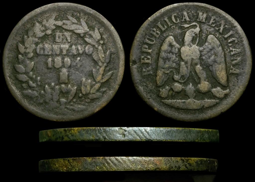 Duda con Centavos Mexicanos 1891 y 1894. Posible Nueva variedad? Foro210