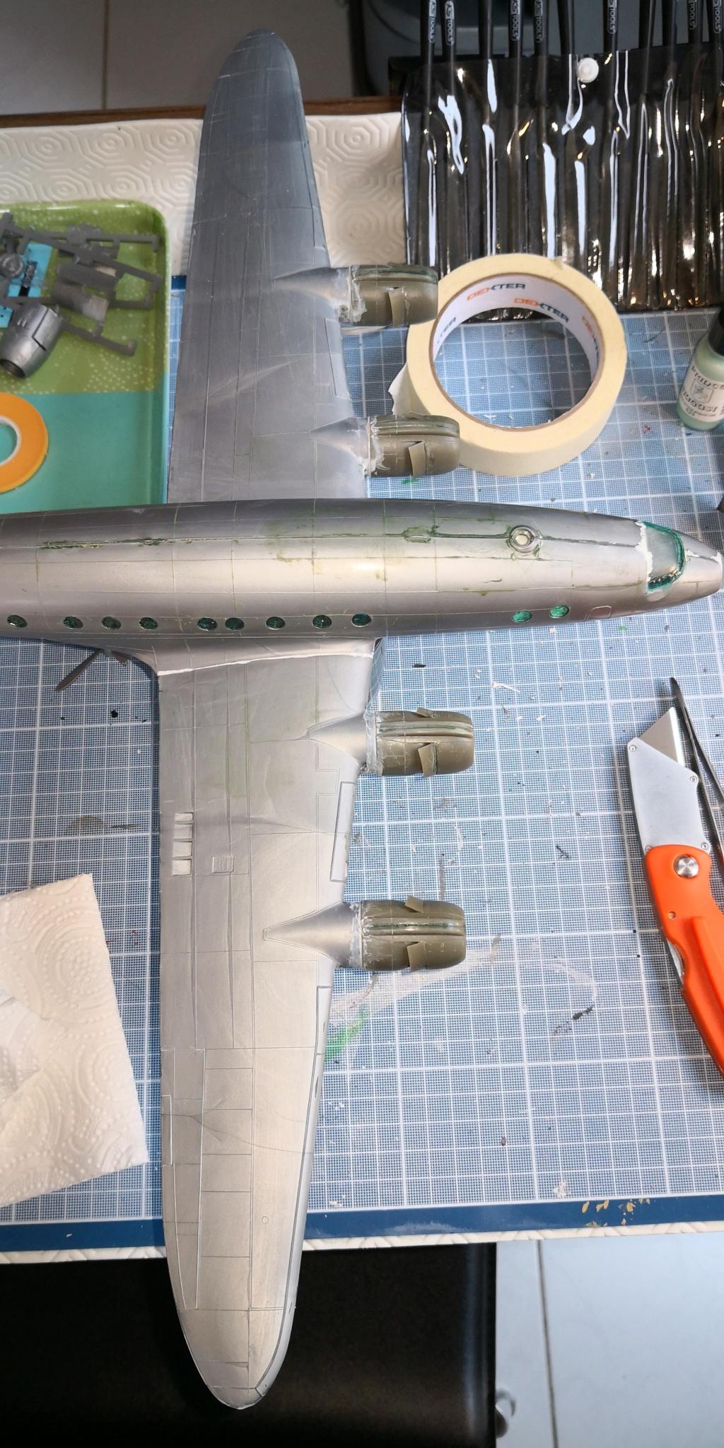 [HELLER] LOCKHEED CONSTELLATION C-121-A MATS BERLIN 1948 - 1949 1/72ème Réf 80382 - Page 2 Img_2017