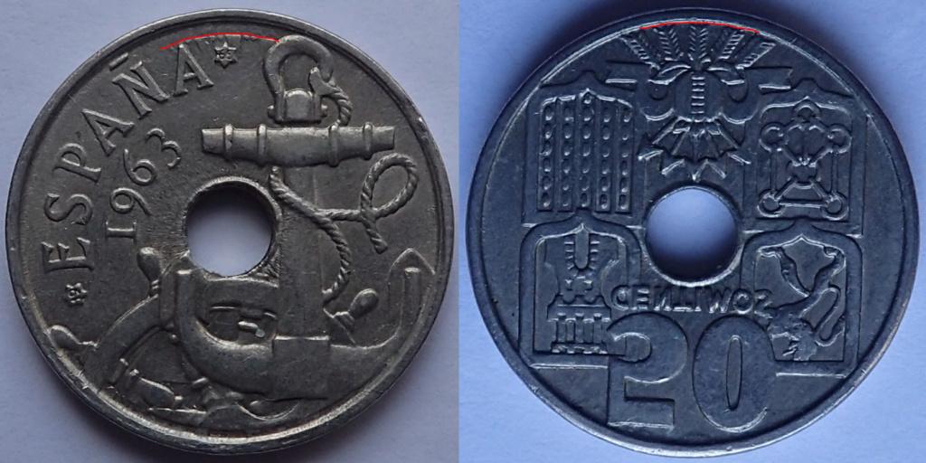 50 Centimos 1963*19-65.Estado Español Imagen17