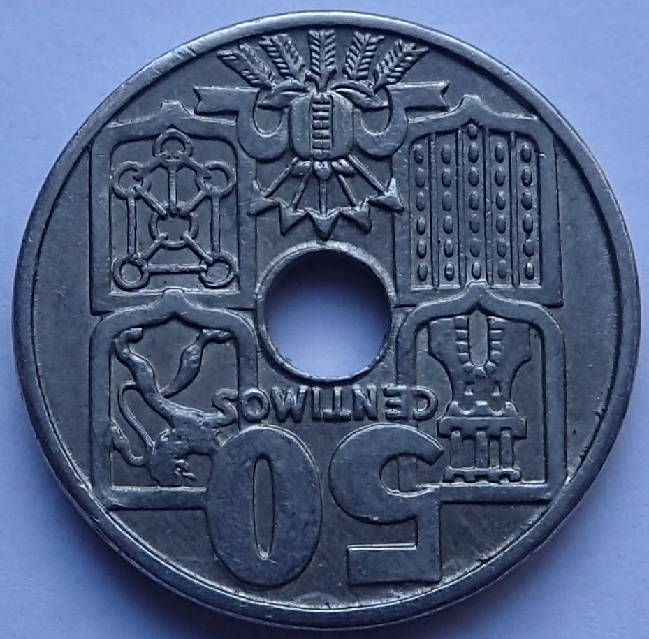 50 Centimos 1963*19-65.Estado Español P1290315