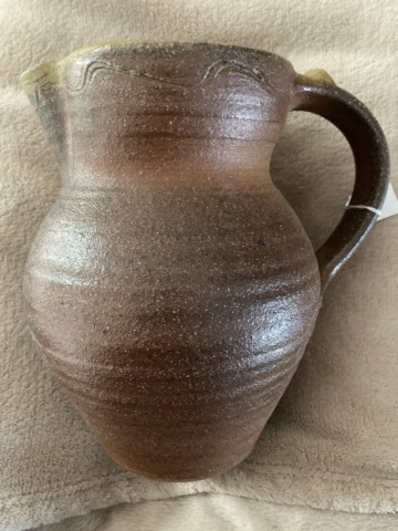 Large wood-fired jug - any ideas as to maker? 0403af10