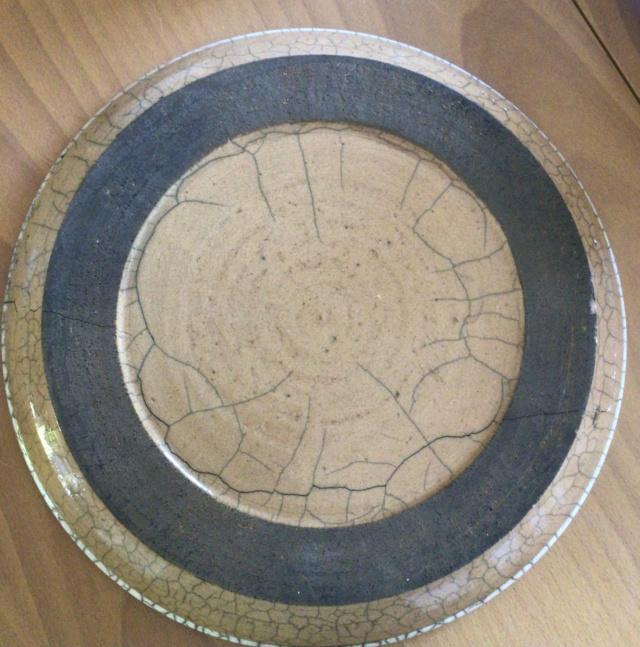 Huge raku  bowl ID? 2ce9b910