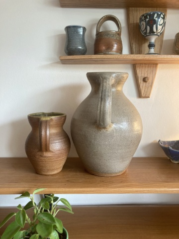 Large wood-fired jug - any ideas as to maker? 3db86710