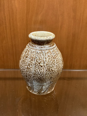 Unmarked tiny salt glazed pot x any suggestions? 481cf210