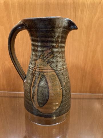 Very large tenmoku  jug - no marks at all? 53020610