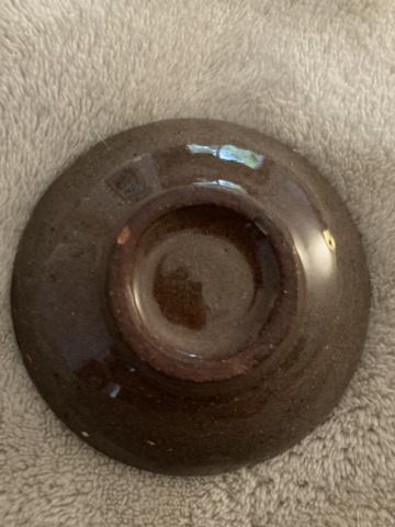 Tiny fish dish - maker? 776b8310