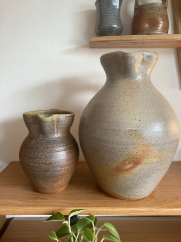 Large wood-fired jug - any ideas as to maker? 9cbc7c10