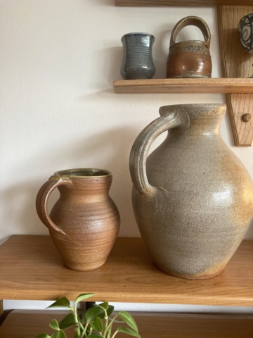 Large wood-fired jug - any ideas as to maker? B8b85510
