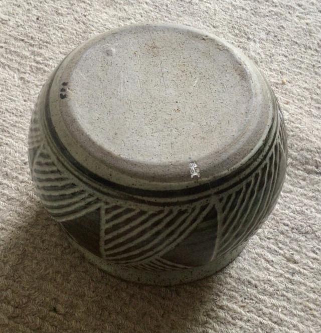 Stoneware planter - Mantenga Pottery, Swaziland, South Africa 1970s Bf95fb10