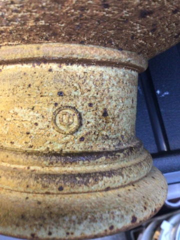 Large unglazed bowl - DP mark?  Ca292910