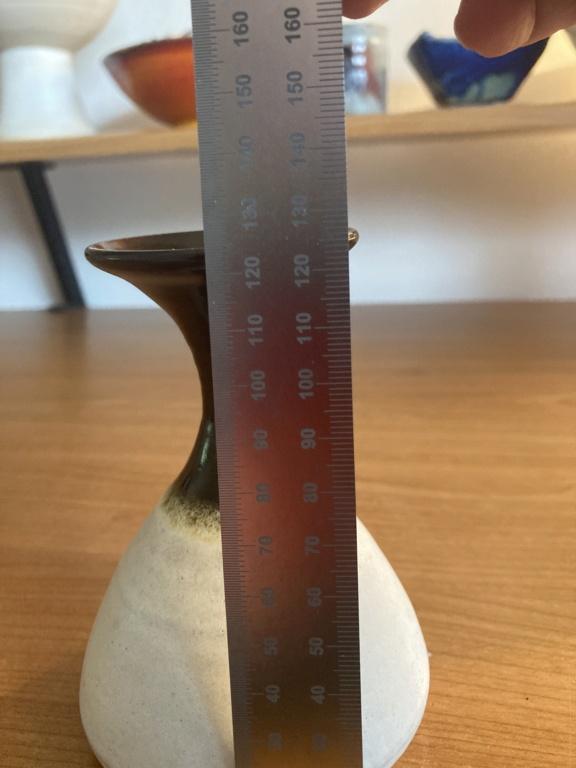 Stoneware bud vase - unknown PB mark De45c610
