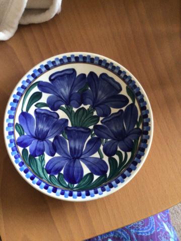 Copenhagen flower plate  F7ad1210