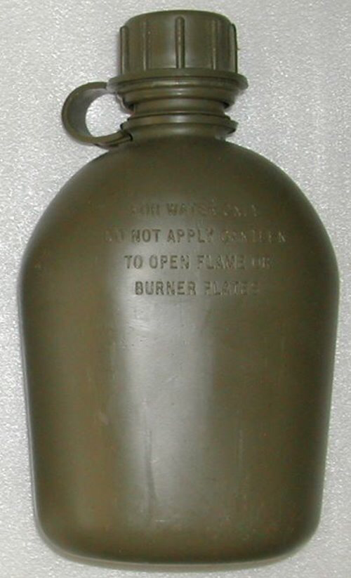 First Canadian made plastic canteen made in 1960 A635d910
