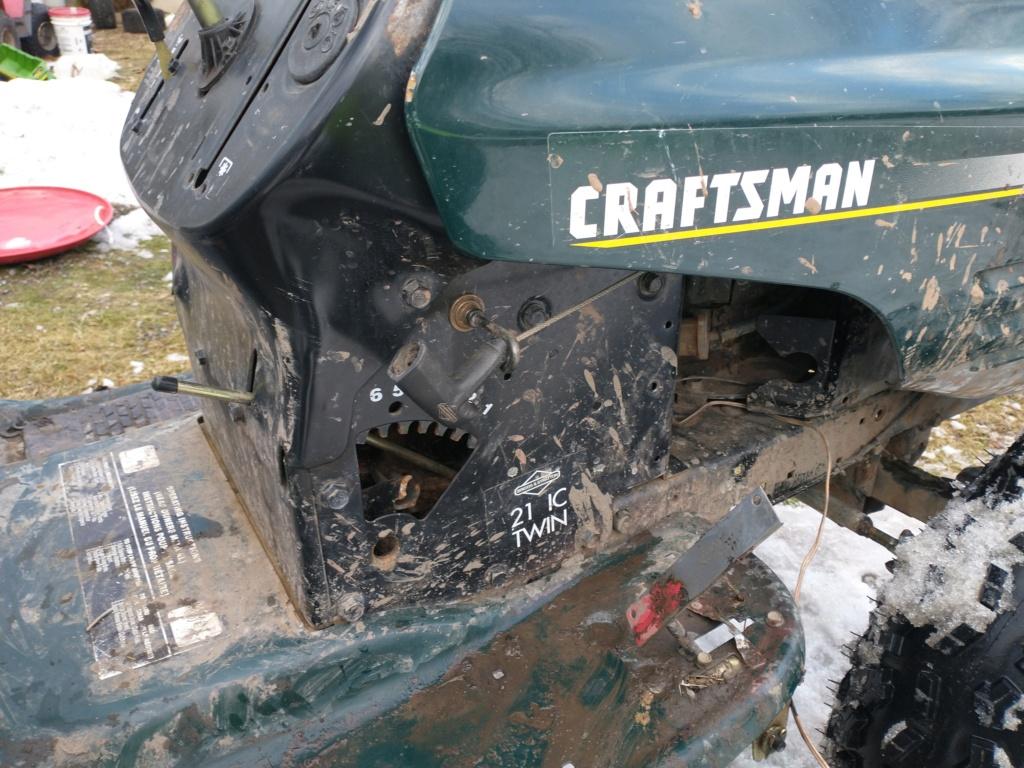 Craftsman LT1000 Project Rotten Banana. Img_2014