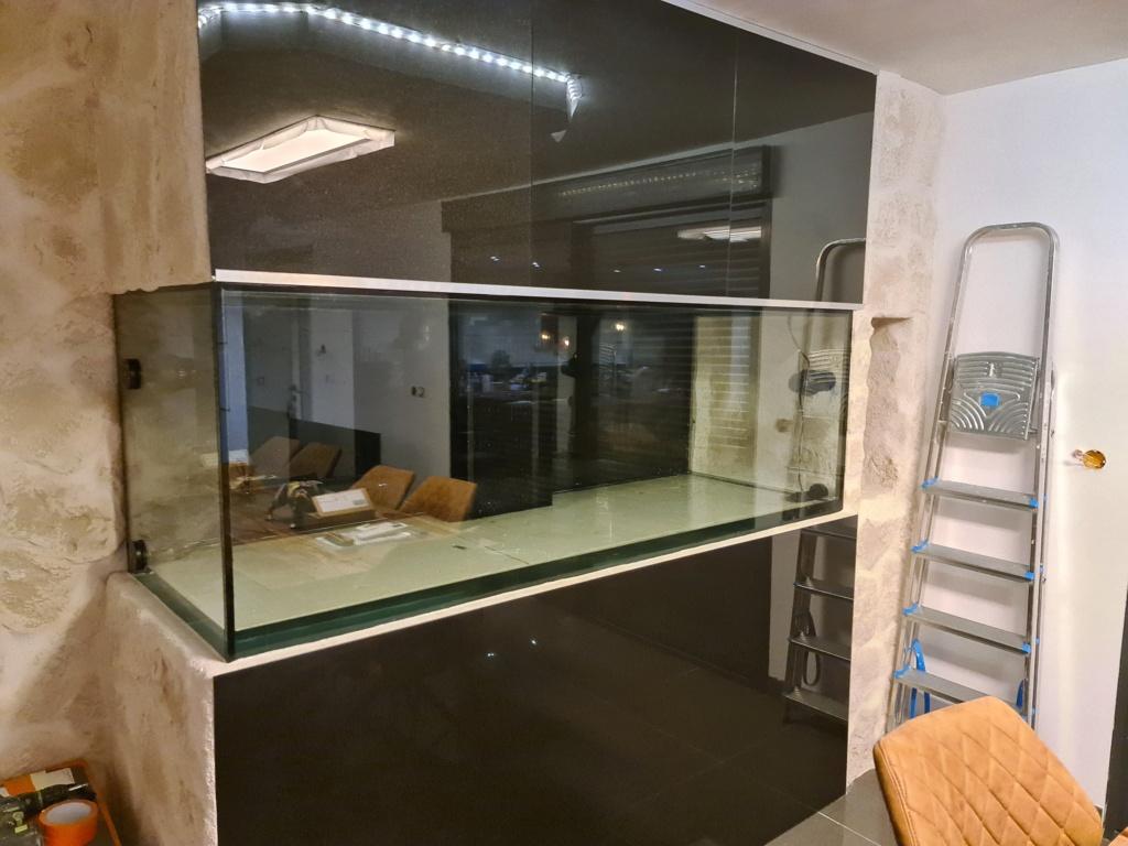 Ma nouvelle installation 1000l avec fish  room 20210314