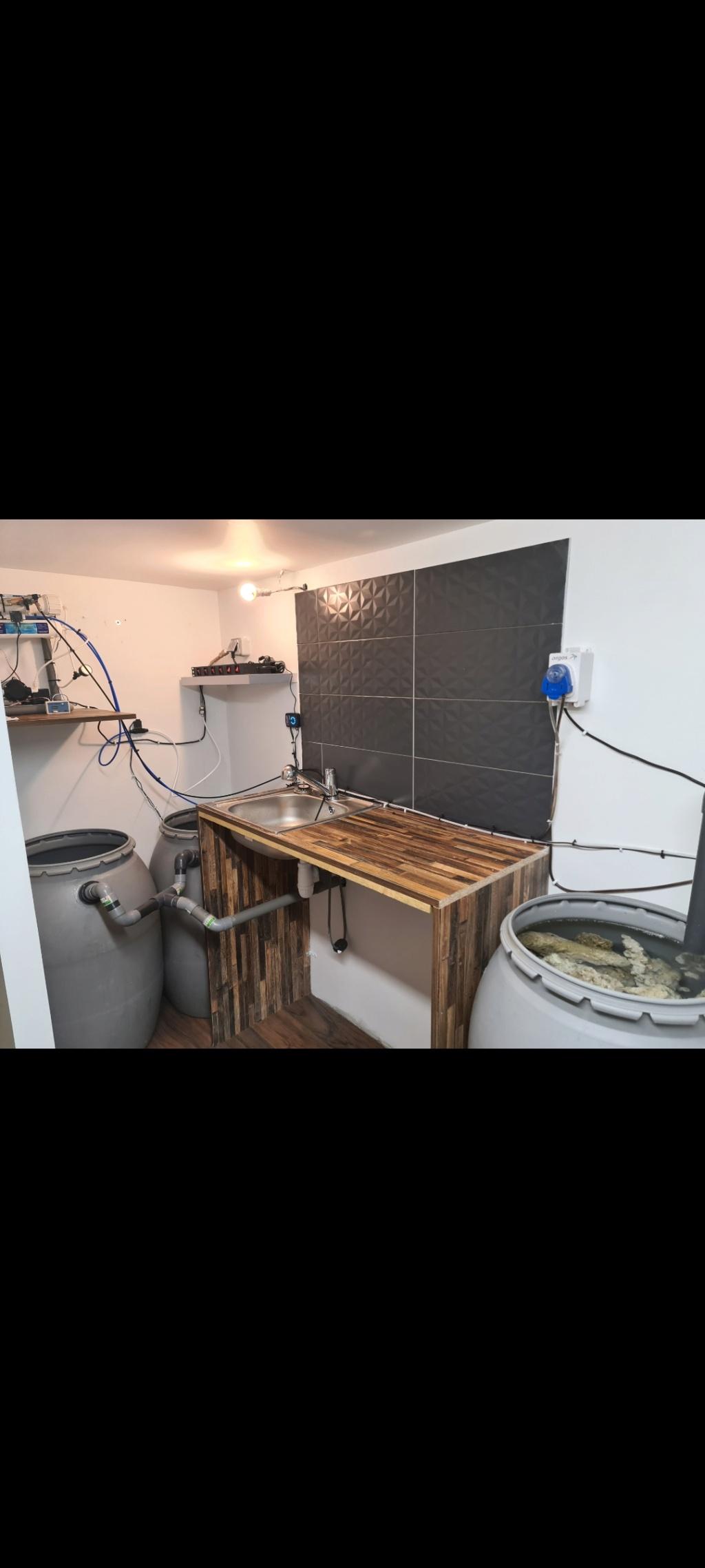 Ma nouvelle installation 1000l avec fish  room Screen10