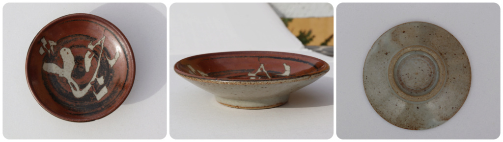 SMALL DISH from New Zealand - NO MAKERS MARK Brown_11