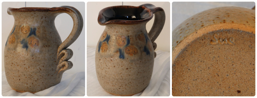 A LOVELY JUG - marked SUE? Sue110