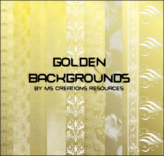 Golden Backgrounds 030