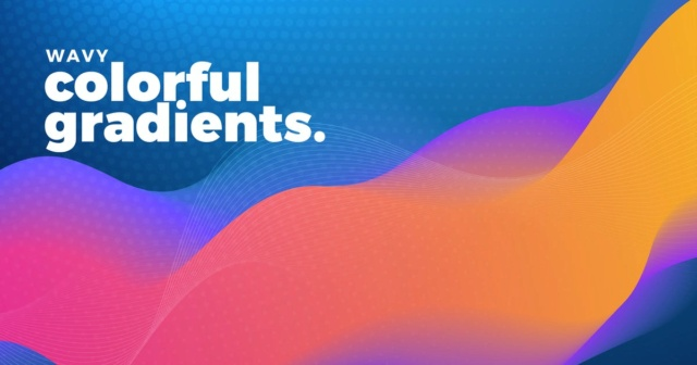 Colorful Wavy Gradient Backgrounds 14f25a10
