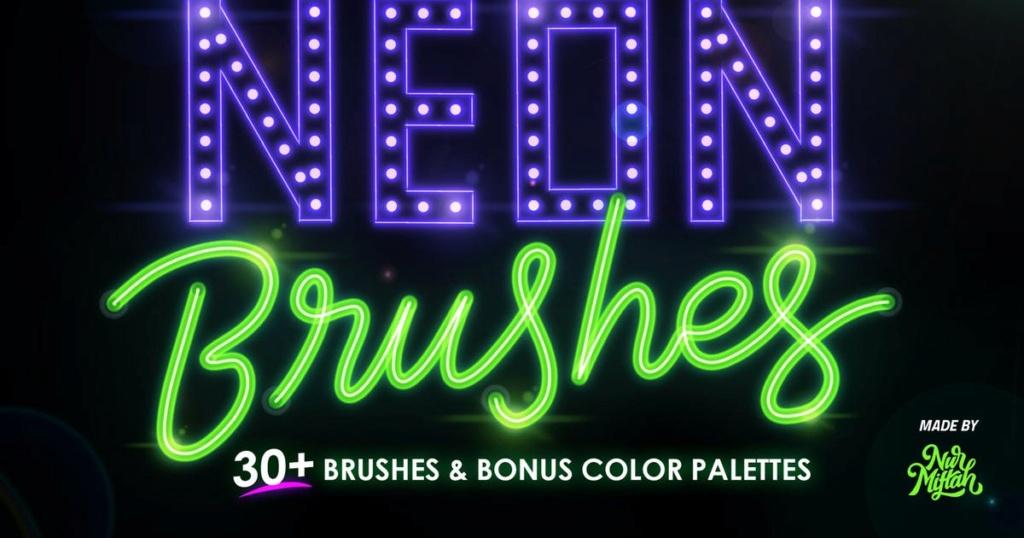 PROCREATE NEON BRUSHES 172e9b10
