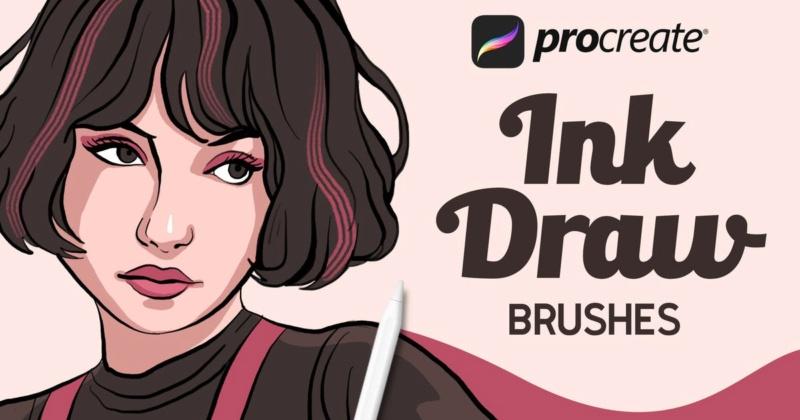 InkDraw - Procrate Brushes 29582010