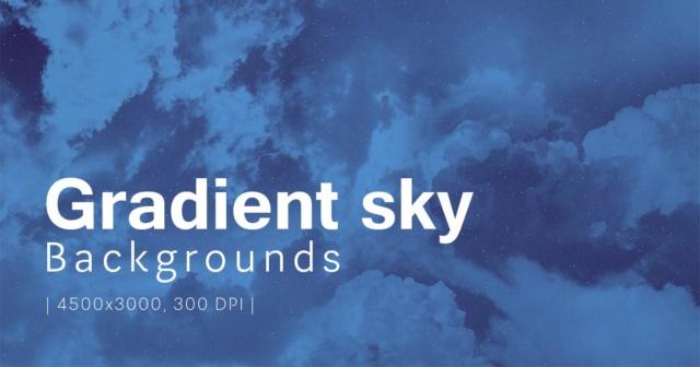 Gradient Sky Backgrounds 55c7ef10