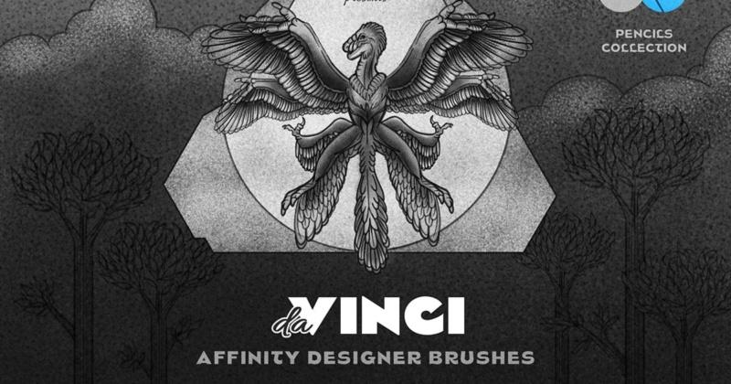 Pencil Affinity Designer Brushes 93782310
