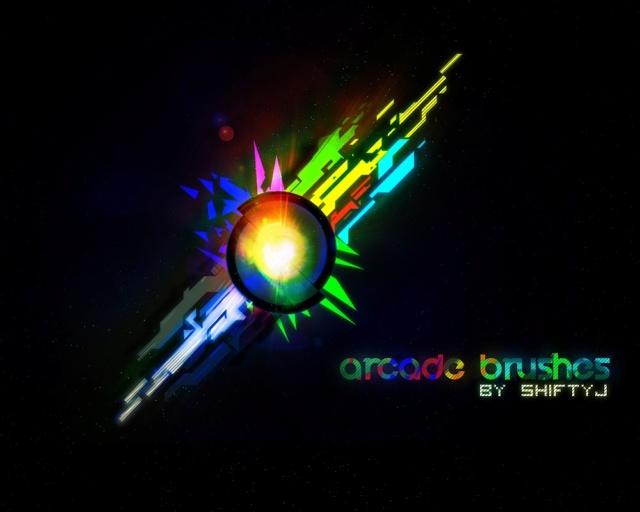 Arcade Brushes Arcade10