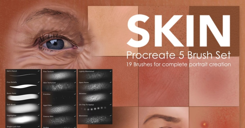 Skin Studio Procreate Brushes Bc2b3c10