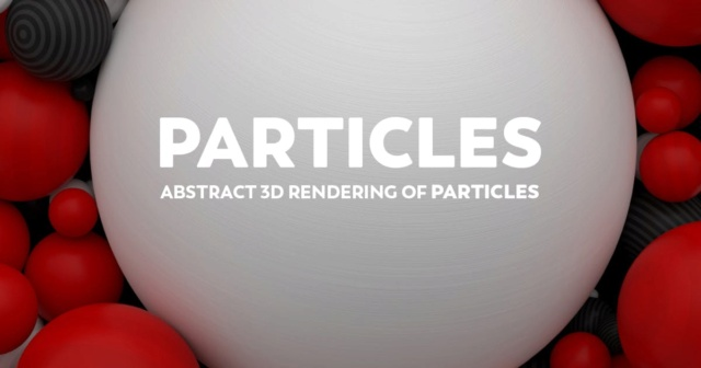 Abstract 3D Rendering Of Particles Striped Background - RED -Black -White  Bd82ce10
