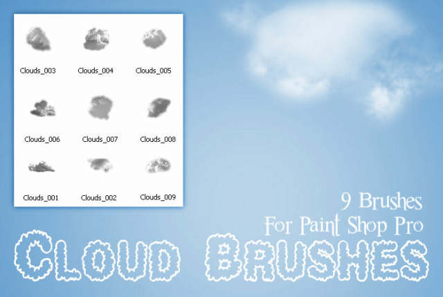 Cloud Brushes PSP D4rdrh10