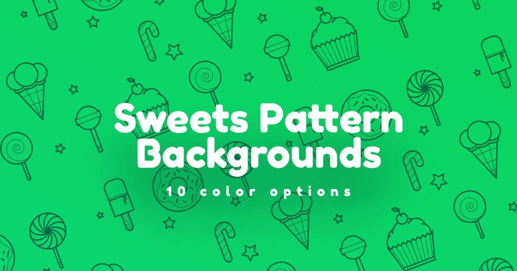 Sweets Pattern Backgrounds E3159f10